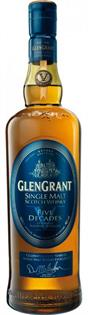 Glen Grant Scotch Single Malt Five Decades 750ml